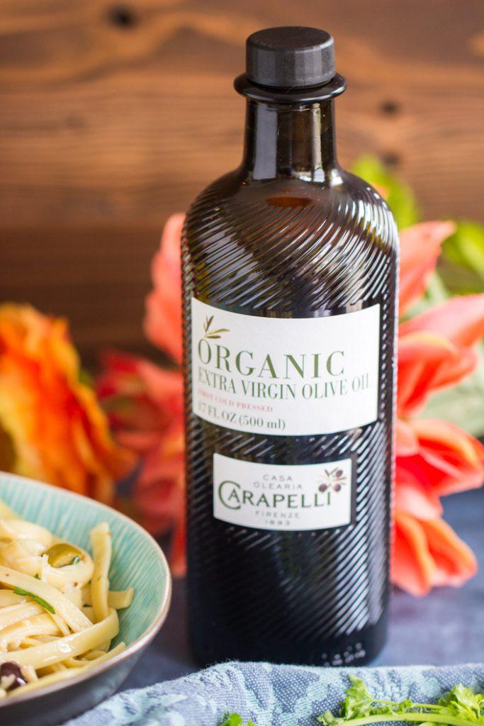 Pasta Aglio e Olio recipe image thegoldlininggirl.com 10