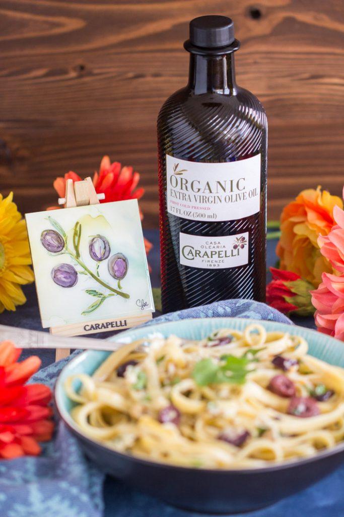 Pasta Aglio e Olio recipe image thegoldlininggirl.com 28