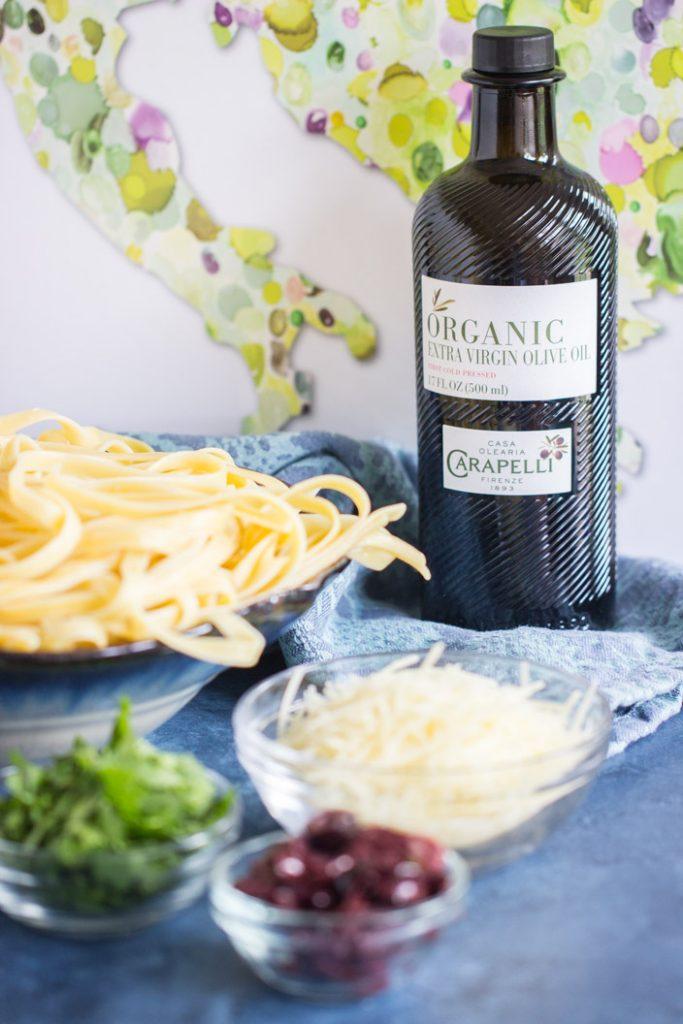 Pasta Aglio e Olio recipe image thegoldlininggirl.com 4