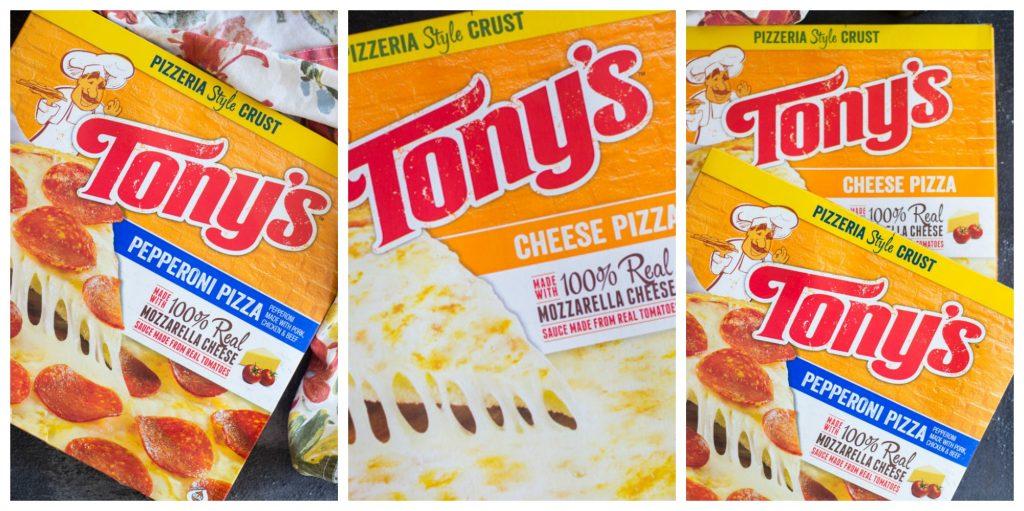 Tony's Pizza collage