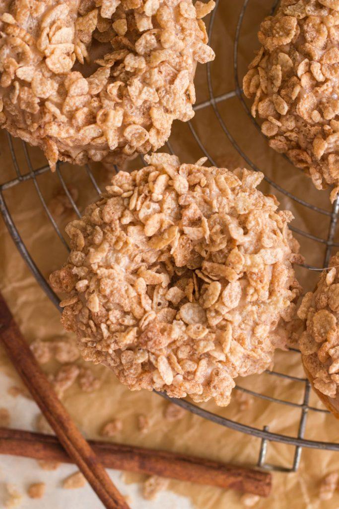 Baked Cinnamon Sugar Donuts with Cinnamon Glaze recipe image thegoldlininggirl.com 16