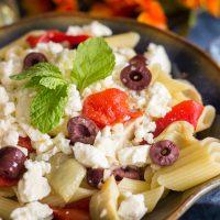 Mediterranean Chicken & Pasta