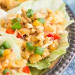 Mongolian Chicken Lettuce Wraps Recipe