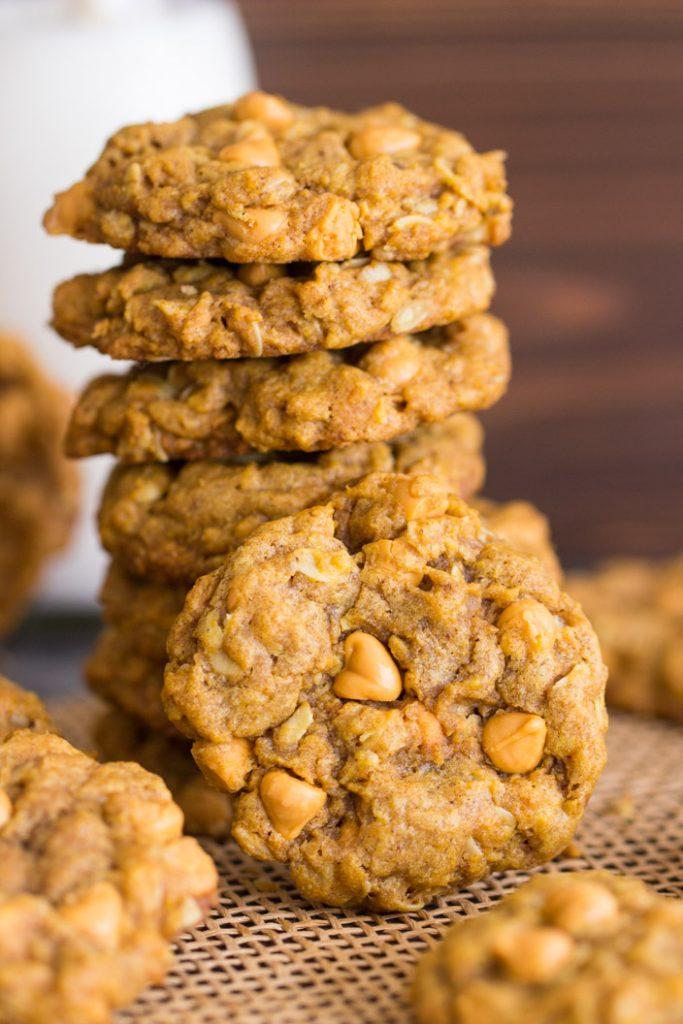 Pumpkin Oatmeal Scotchies recipe image thegoldlininggirl.com 15