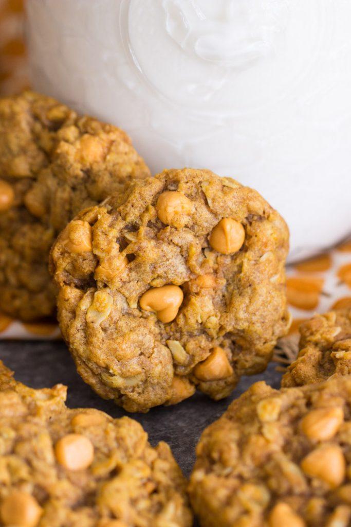 Pumpkin Oatmeal Scotchies recipe image thegoldlininggirl.com 8