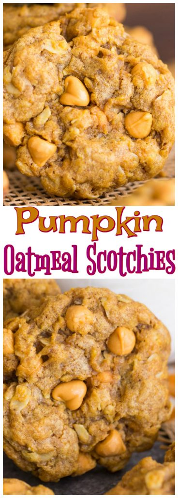 Breakfast Recipes 2017 10 2 Pumpkin Spice Latte >> Pumpkin Oatmeal Scotchies - The Gold Lining Girl