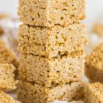 Pumpkin Spice Latte Rice Krispie Treats
