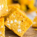 Goat Cheese Pumpkin Cornbread