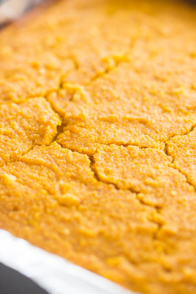 Honey Brown Butter Pumpkin Cornbread recipe image thegoldlininggirl.com 2