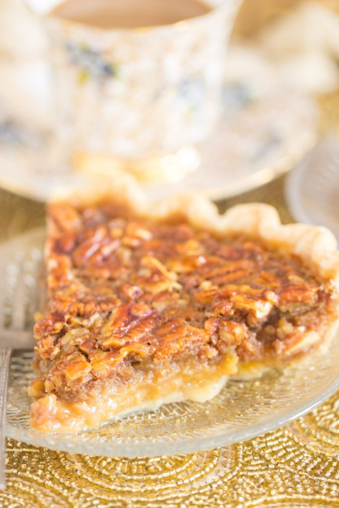 Honey Pecan Pie recipe image thegoldlininggirl.com 11