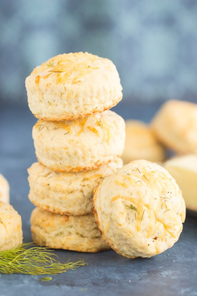 Parmesan Dill Biscuits recipe image thegoldlininggirl.com 10