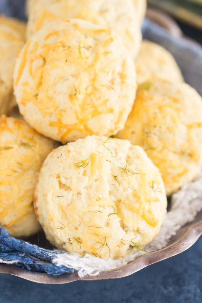 Parmesan Dill Biscuits recipe image thegoldlininggirl.com 2