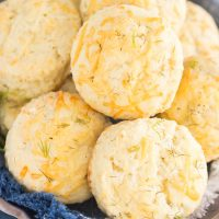 Parmesan Dill Biscuits