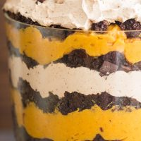 Chocolate Pumpkin Trifle