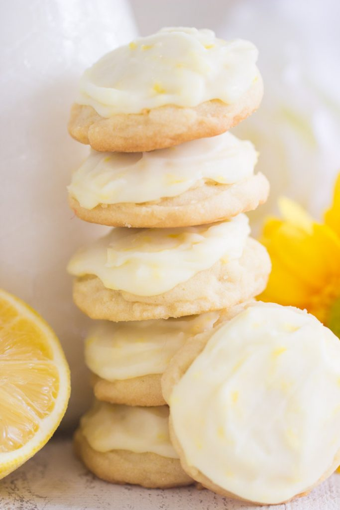 Iced Lemon Amish Sugar Cookies recipe image thegoldlininggirl.com 13