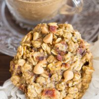 Peanut Butter Bacon Breakfast Cookies Recipe