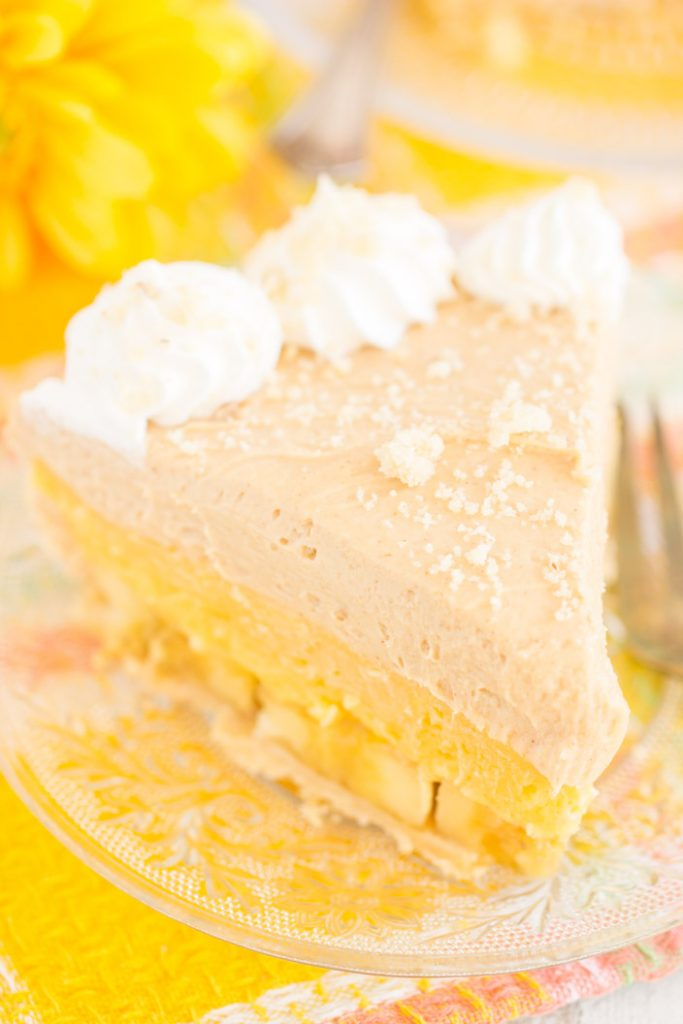 Banana Pudding Peanut Butter Pie recipe image thegoldlininggirl.com 10