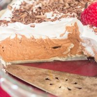Quick & Simple Chocolate Irish Cream Pie