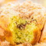 Pistachio Bread Cinnamon Streusel Muffins