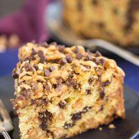 Chocolate Peanut Butter Coffee Cake Recipe
