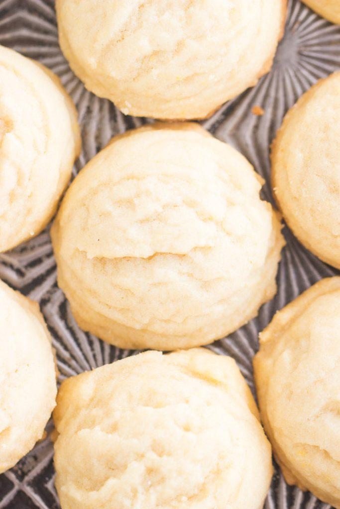 Coconut Oil Amish Sugar Cookies recipe image thegoldlininggirl.com 2