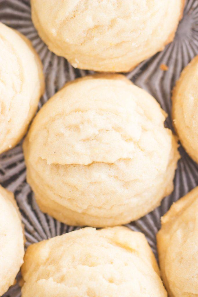 Coconut Oil Amish Sugar Cookies recipe image thegoldlininggirl.com 3