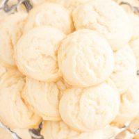 Coconut Oil Amish Sugar Cookies