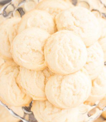 Coconut Oil Amish Sugar Cookies recipe image thegoldlininggirl.com 600x900 4