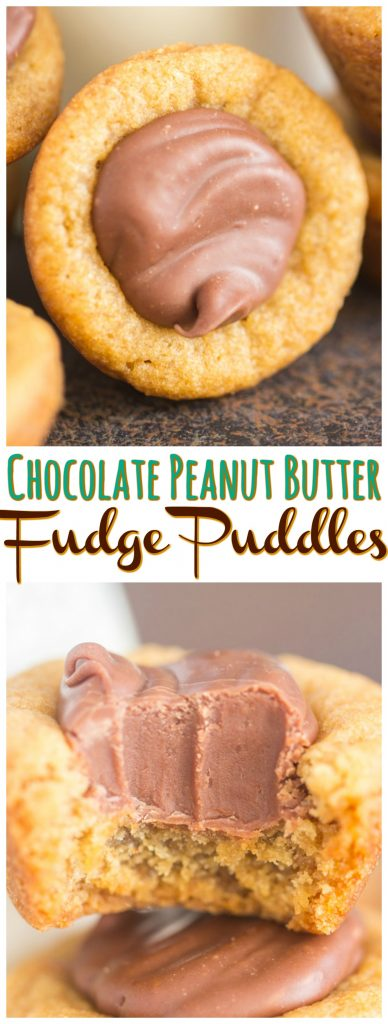 Fudge Puddles recipe image thegoldlininggirl.com long pin 1