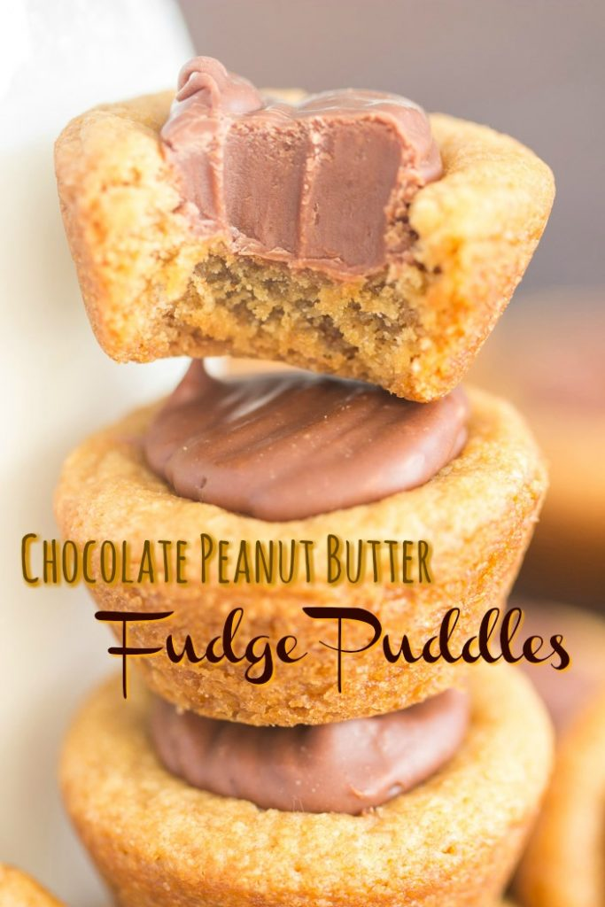 Fudge Puddles recipe image thegoldlininggirl.com short pin 1