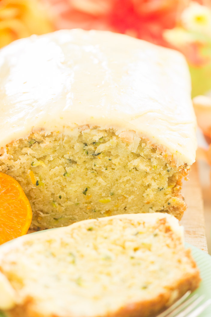 Orange zucchini bread with orange glaze the gold lining girl this orange zucchini bread with orange glaze is one of a whole slew of zucchini recipes coming up shortly zucchini is one of my new favorite ingredients forumfinder Image collections