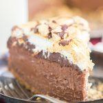 Nutella S'mores Cheesecake recipe image thegoldlininggirl.com 8