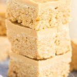 White Chocolate Peanut Butter Scotcheroos