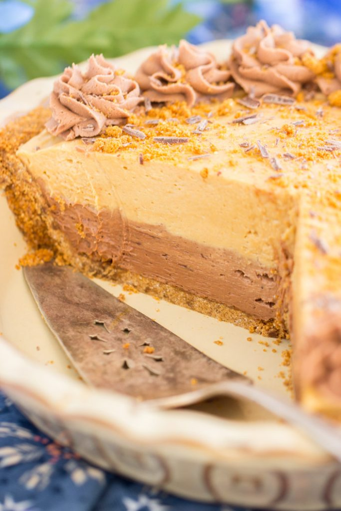 Chocolate Mocha Cookie Butter Cheesecake with Biscoff Crust 13