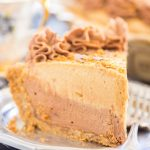Chocolate Mocha Cookie Butter Cheesecake with Biscoff Crust 7
