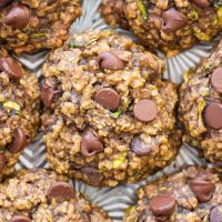 Oatmeal Chocolate Chip Zucchini Cookies