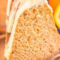 Sweet Potato Bundt Cake with Orange Glaze