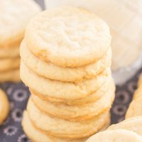 Thin Crispy Amish Sugar Cookies