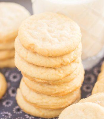 Thin & Crispy Amish Sugar Cookies recipe image thegoldlininggirl.com 600x900 3