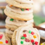 Iced Chai-Spiced Amish Sugar Cookies