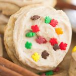 Iced Chai-Spiced Amish Sugar Cookies recipe image thegoldlininggirl.com 600x900 3 copy