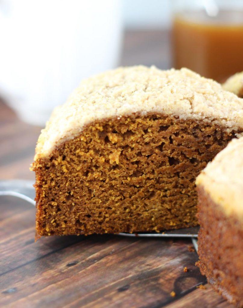 pumpkin gingerbread crumb coffee cake 14