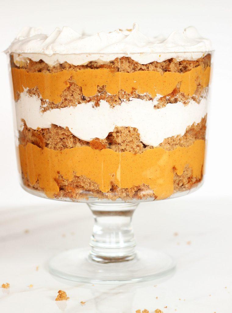 pumpkin spice cake butterscotch trifle 14