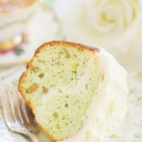 Cheesecake-Stuffed Pistachio Bread