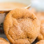 Soft & Chewy Pumpkin Snickerdoodles