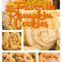 10 Favorite Pumpkin Cookie Recipes