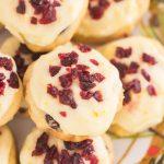 Cranberry Orange Amish Sugar Cookies