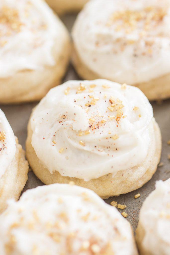 Eggnog Amish Sugar Cookies recipe image thegoldlininggirl.com 5
