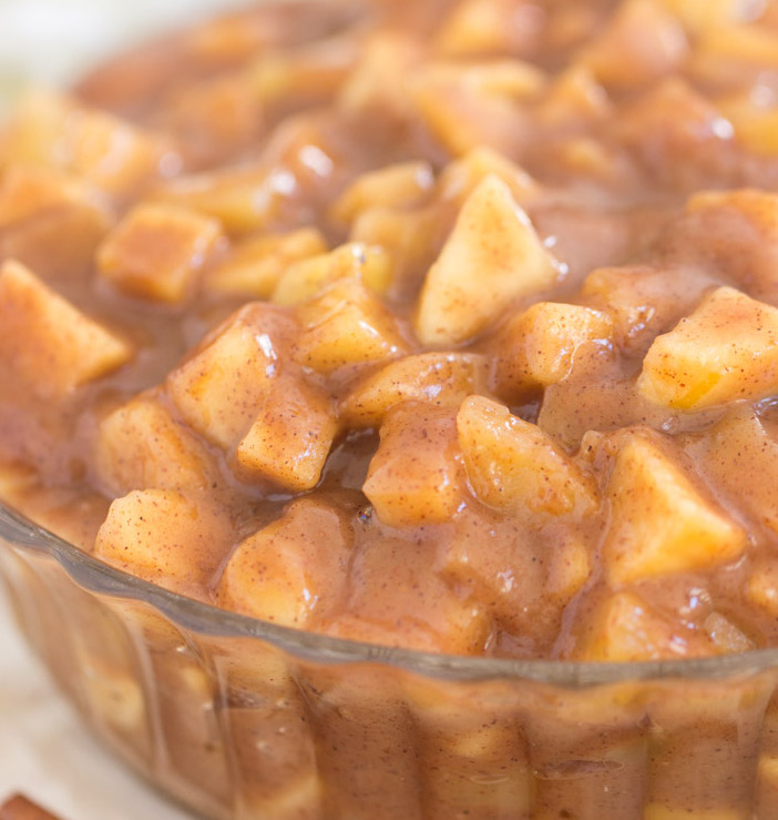 Fireball Crock-Pot Cinnamon Apples recipe image thegoldlininggirl.com 6 copy