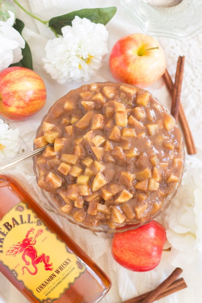 Fireball Crock-Pot Cinnamon Apples recipe image thegoldlininggirl.com 8